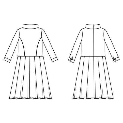 "Download S1103 Dress ""Victoria"""