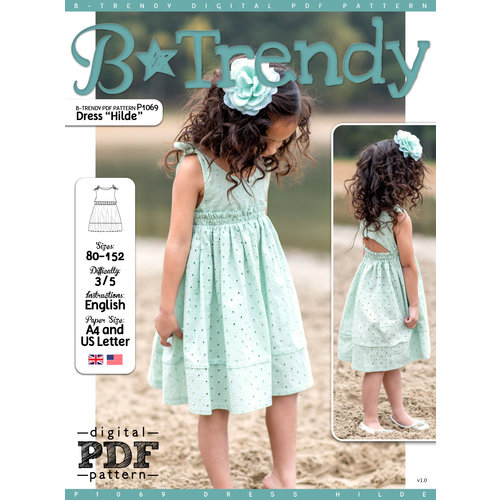 "Download P1069 Dress ""Hilde"""
