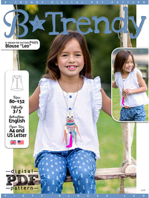 "Download P1075 Blouse ""Leo"""