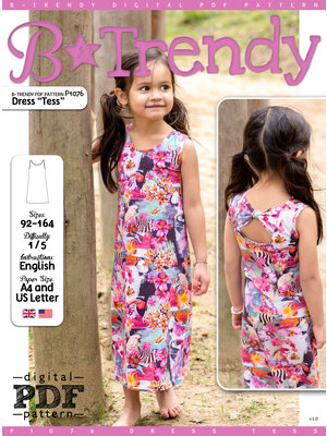 "Download P1076 Dress ""Tess"""