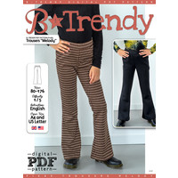 "P1085 Trousers ""Melody"""