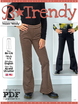 "Download P1085 Trousers ""Melody"""