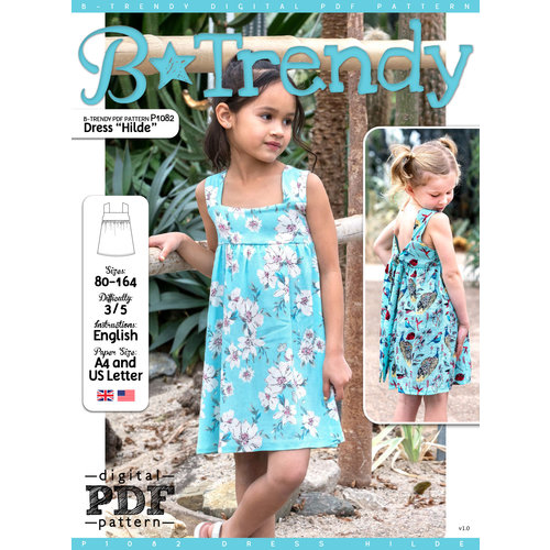 "Download P1082 Dress ""Rosalin"""