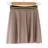 "Sewing kit P1072 Skirt ""Beige Napa"" + free magazine"