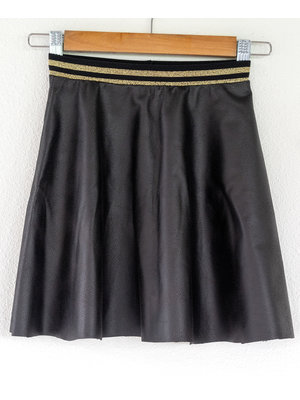 "Miss Doodle Kit 80-176 Sewing kit P1072 Skirt ""Black Napa"" + free magazine"
