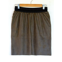 "Sewing kit S1102 Skirt ""Green Napa"""