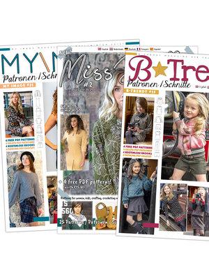 Magazine Winter-Ausgaben 2020 + gratis Schnitt!