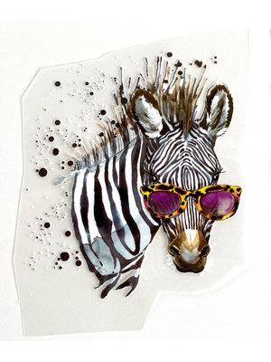 Iron-on patch Zebra