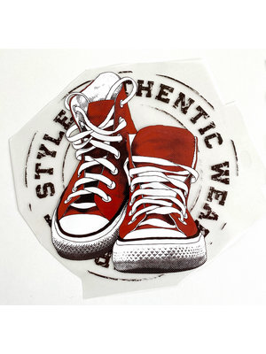 Strijkapplicatie Sneakers