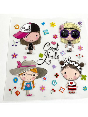 Iron-on patch Cool Girls