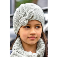Crochet kit C1007 Hat Maya Green + free magazine