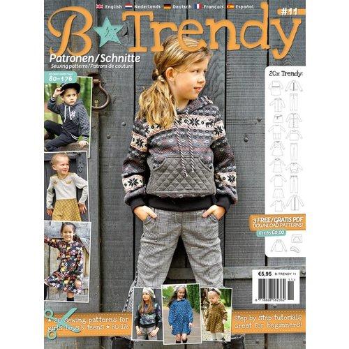 Magazine B-Trendy Winter Paket + gratis Schnitt!