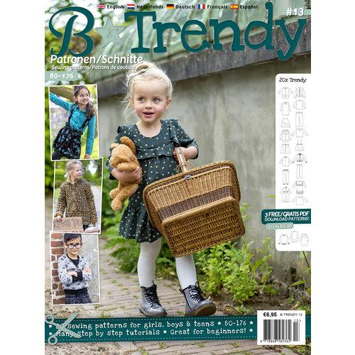 Magazine B-Trendy Winterpakket + gratis patroon!
