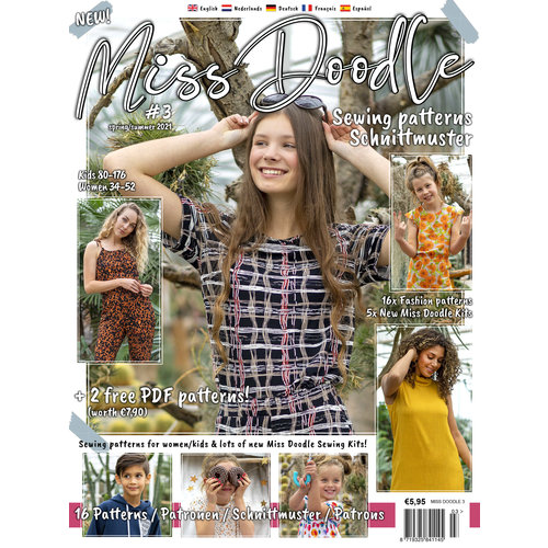 Magazine Summer editions 2021 + free pattern!