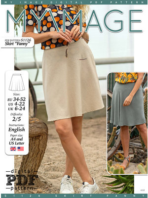 "Download S1126 Skirt ""Fanny"""