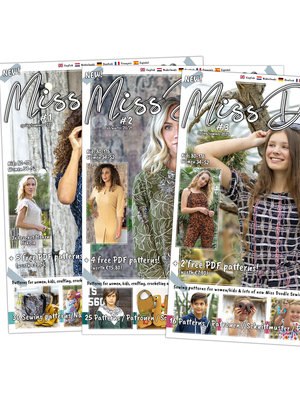 Magazine Miss Doodle Pakket + gratis patroon!