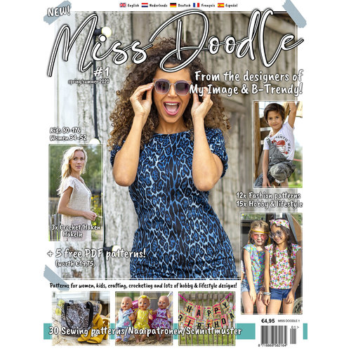 Magazine Miss Doodle Package + free pattern!