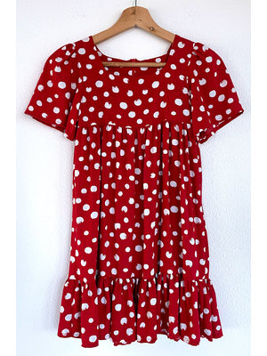"Miss Doodle Kit 80-176 Sewing kit P1109 Dress ""Red"""