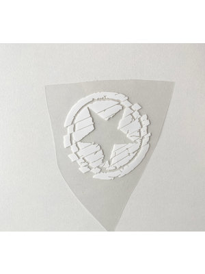 Patch thermocollant Small Star White
