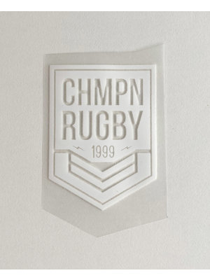 Iron-on patch Rugby White