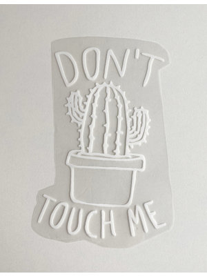Patch thermocollant Cactus White