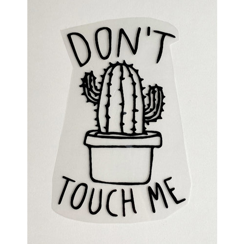 Patch thermocollant Cactus Black