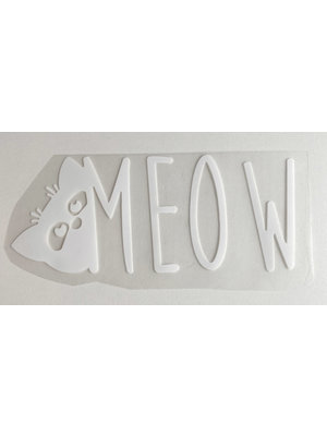 Patch thermocollant Meow White