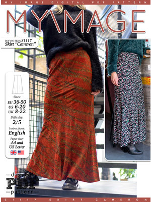 "Download S1117 Skirt ""Cameron"""