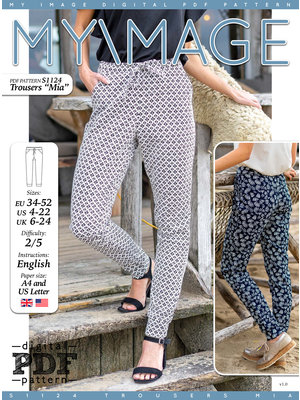 "Download S1124 Trousers ""Mia"""
