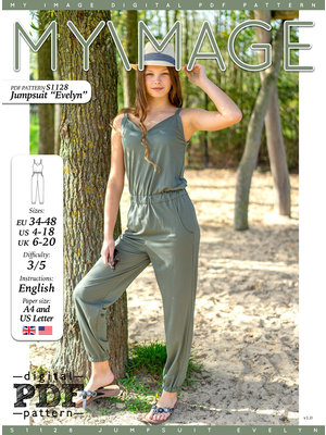 "Download S1128 Jumpsuit ""Evelyn"""