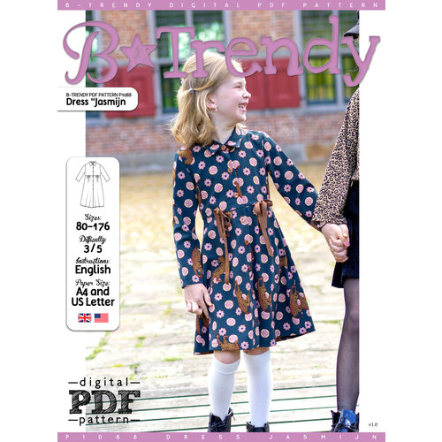 "Download P1088 Dress ""Jasmijn"""