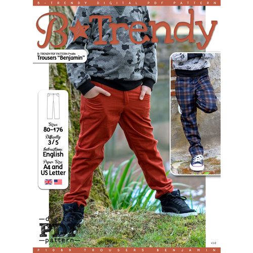 "Download P1089 Trousers ""Benjamin"""