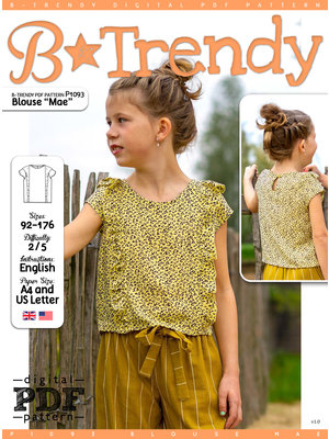"Download P1093 Blouse ""Mae"""