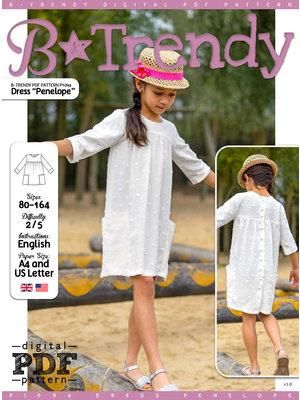 "Download P1094 Dress ""Penelope"""
