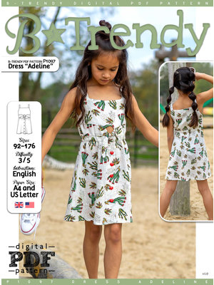 "Download P1097 Dress ""Adeline"""