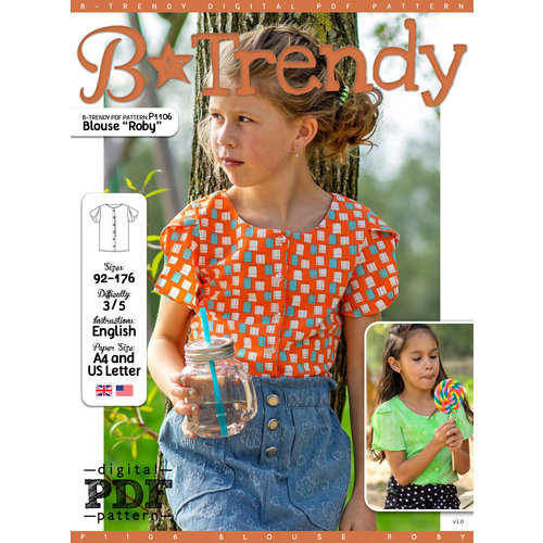 "Download P1106 Blouse ""Roby"""