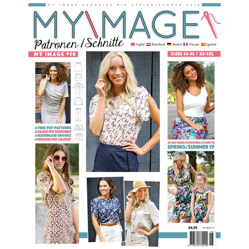 Magazine My Image Summer Package + free pattern!