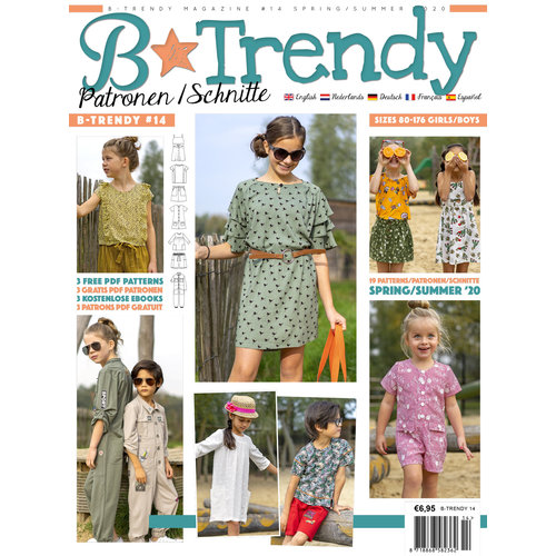 Magazine B-Trendy Summer Package + free pattern!