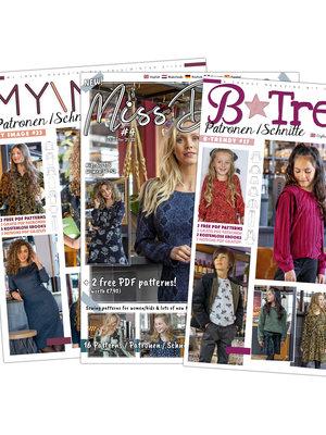 Magazine Winter-Ausgaben 2021 + gratis Schnitt!