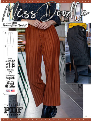 """Download H1008  Trousers/Skirt """"Brooke"""""""