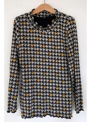 "Miss Doodle Kit 80-176 Nähset P1108 Shirt ""Grau"""