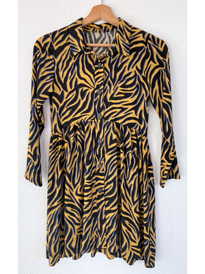 """Miss Doodle Kit 80-176 Kit couture H1007 Robe """"Yellow"""""""