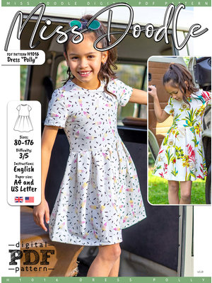 """Download H1016  Dress """"Polly"""""""