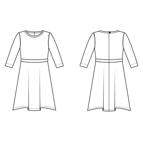 "Download S1152  Dress ""Maeve"""