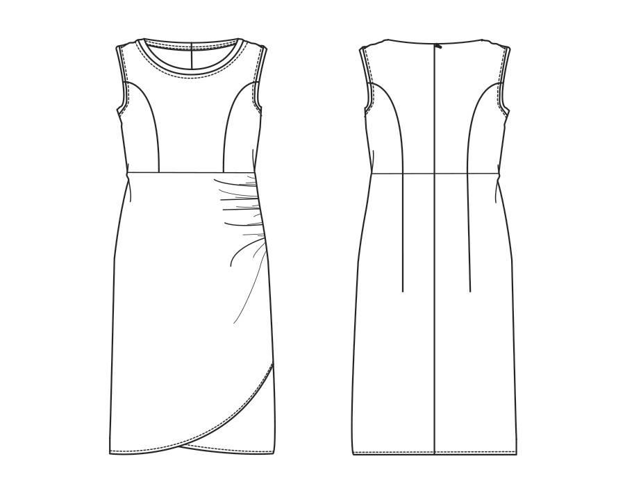 "S1021 Dress ""Nikita"""