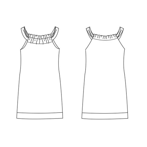 "Download K1002 Kleid ""Beau"""