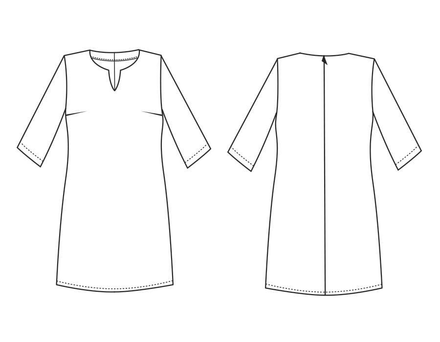 """S1024 Dress """"Sarah"""""""