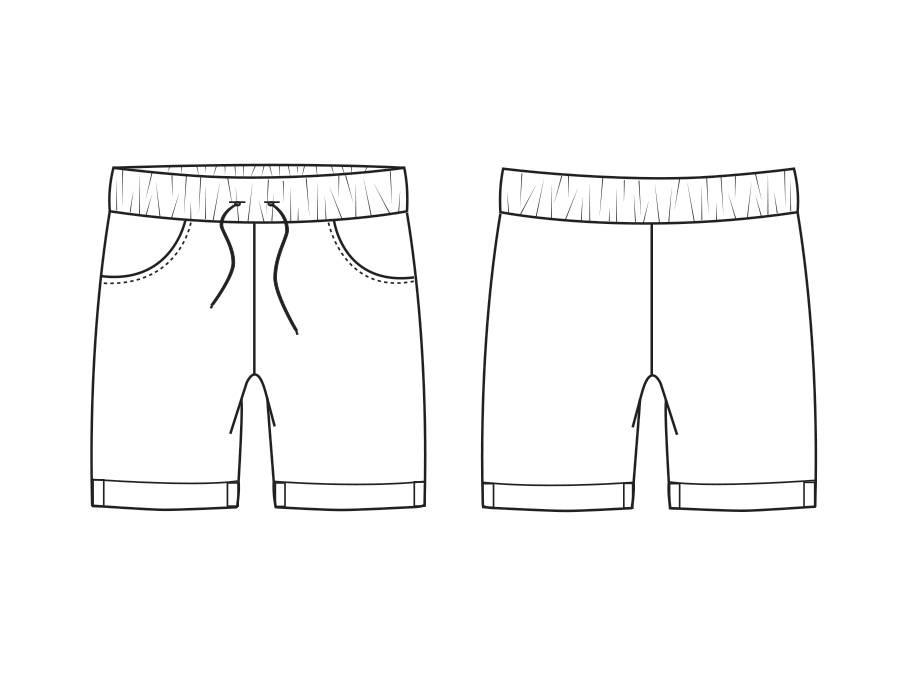 """P1009 Shorts """"Robin"""""""