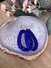 Oorbellen druppel Turquoise