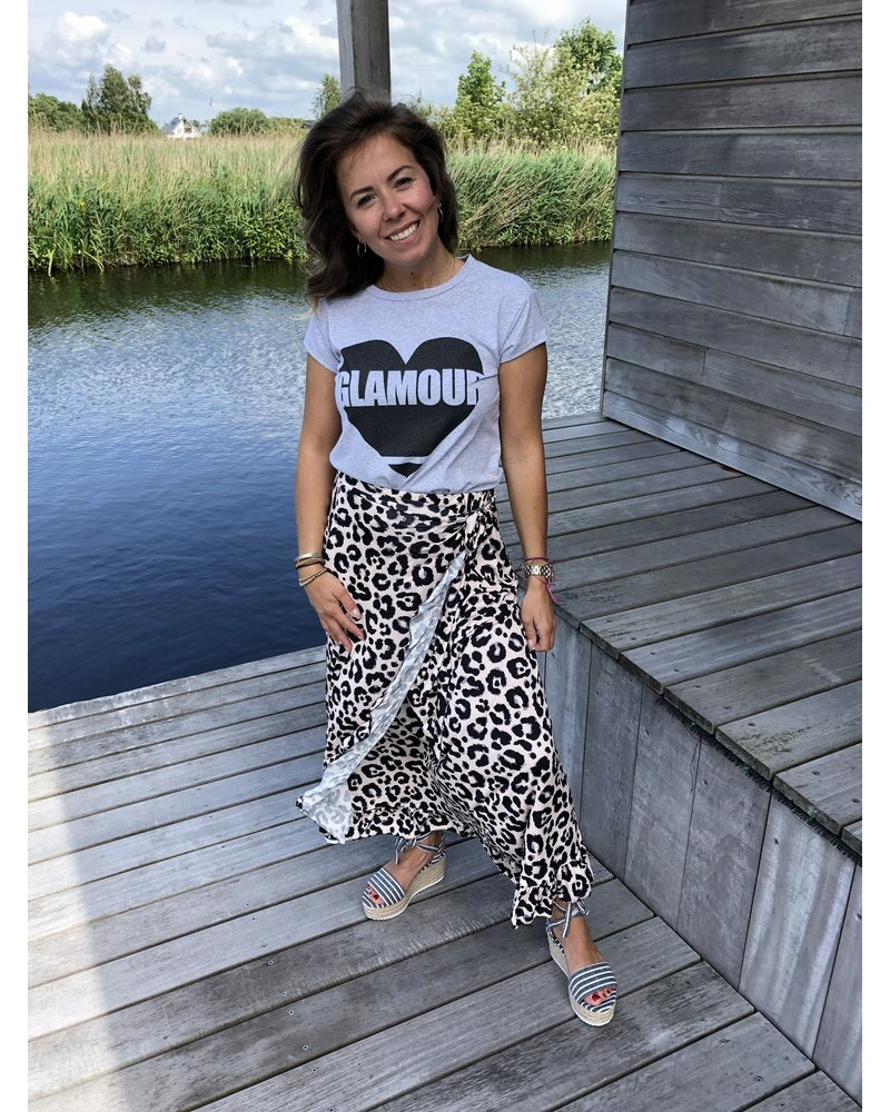 Glamour tee wit